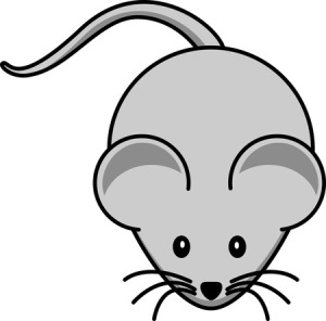 Free Cartoon Mouse Clipart Illustration