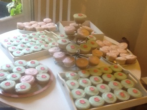 lots of cakes