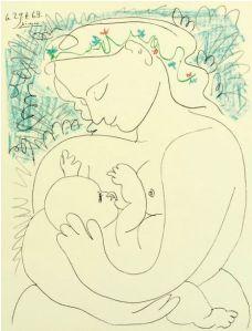 Picasso, Maternité