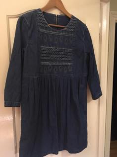 Denim tunic dress for me.