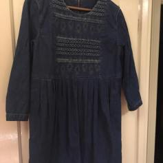 Denim tunic dress for me.