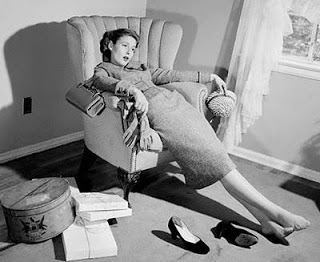 vintage-exhausted-woman-photo