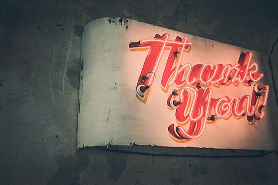thank you neon