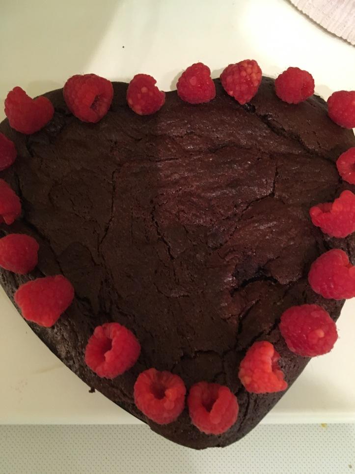 hear cake